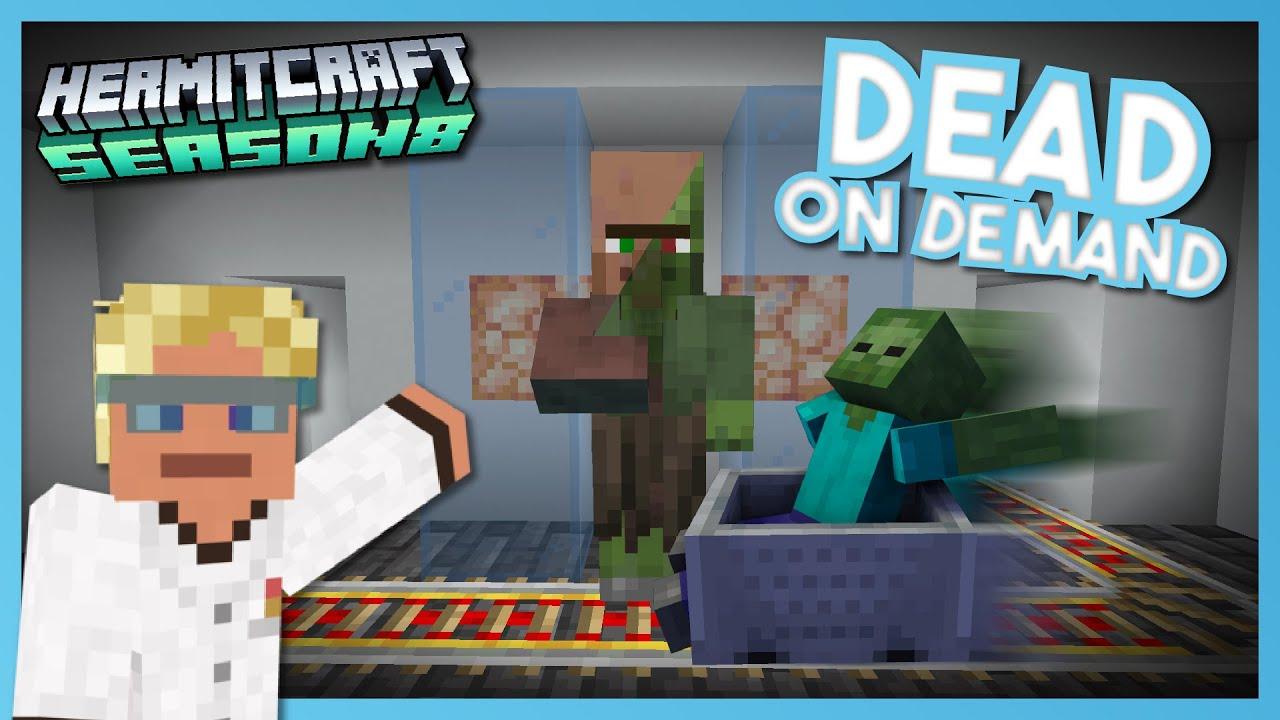 Download Zombification Station!!! - Minecraft Hermitcraft Season 8 #5