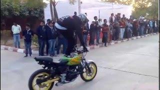 stunts by steel silencerz   lnmiit jaipur   2016   desportivos