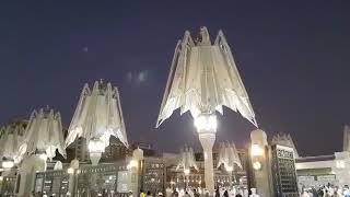 Opening of Umbrella in Al Masjid un Nabawi, Madeenah