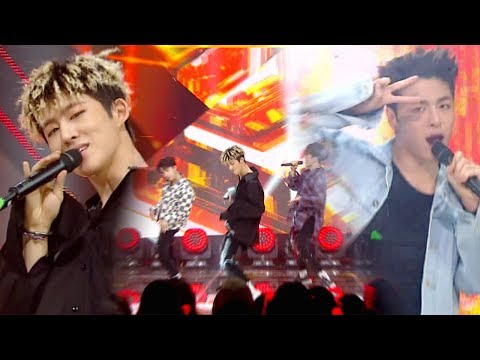 """EXCITING"" iKON - B-DAY (bees) @ popular song Inkigayo 20170625"