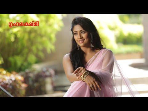 Navya Nair - Christmas Special Cover Photo Shoot - Behind the Scenes - Grihalakshmi