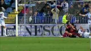 Gol de Augusto Fernández (1-1) en el Málaga CF - Celta de Vigo - HD
