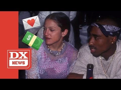 Madonna Fails To Block Tupac Shakur Love Letter Sale