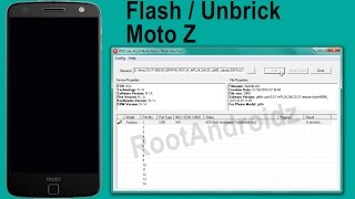 Moto Z FLASHING | Flash/Unbrick Moto Z  Stock Rom Tutorial
