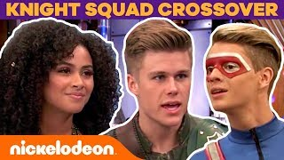 Henry Danger & Knight Squad EPIC Crossover + BTS Moments | #FunniestFridayEver