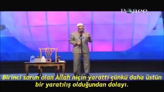 Dr Zakir Naik Ateist ve Agnostik arası gencin zor sorusuna müthiş bir cevap verip ikna ediyor