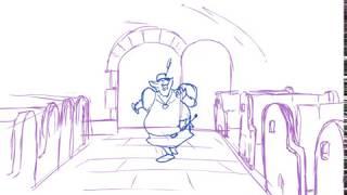 The Honorable Sheriff of Nottingham Animation Study-1