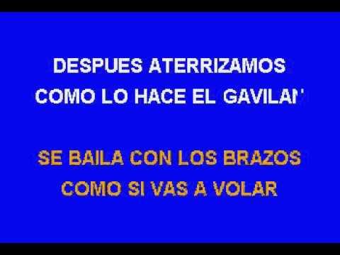 El Baile Del Gavilan  KARAOKE  COMO  LOS CHICOS DEL BARRIO