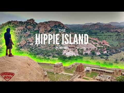 SECRETS OF HIPPIE ISLAND HAMPI - You Never Knew !! Incredible INDIA Tour Ep.03