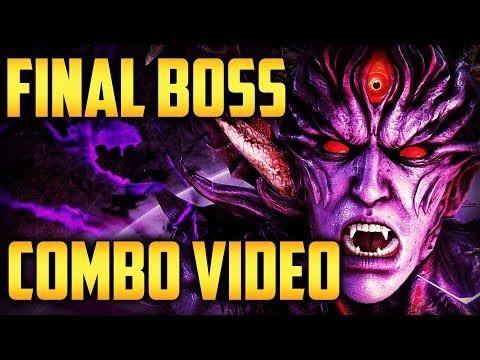 TEKKEN 7 Final Form Devil Boss Combo Exhibition