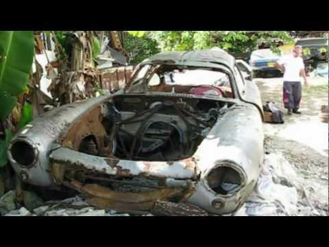 Cuba Barn Find: Mercedes 300SL Gullwing