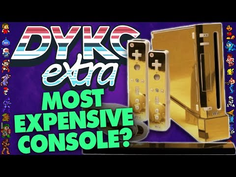 The Queen's Gold Nintendo Wii [Expensive Hardware] - Did You Know Gaming? extra Feat. Dazz
