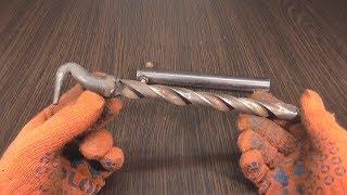 видео Крючок для вязки арматуры