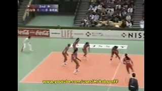 Brasil x Cuba - Semifinal Mundial 1998