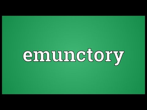 Header of emunctory