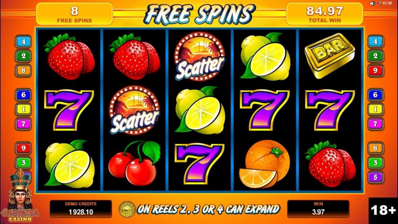 SunTide Slot Machine