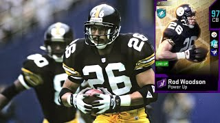 HOW GOOD IS 97 OVERALL ROD WOODSON? MADDEN 20 ULTIMATE TEAM CARD REVIEW