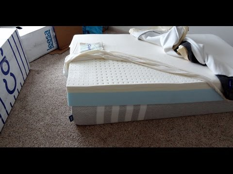 Casper Mattress AND Leesa Mattress Side by Side Unboxing and First Impressions