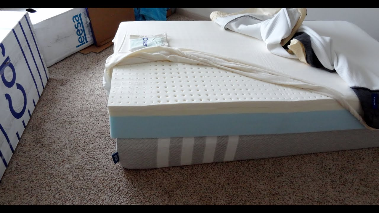 Casper Mattress And Leesa Side By Unboxing First Impressions You