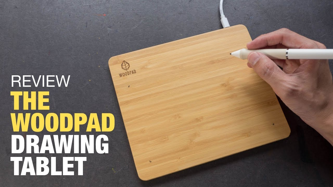 WoodPad, the Drawing Tablet Made With Bamboo (Review) #1