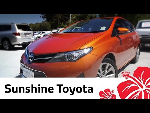 2013 Toyota Corolla - Video review by Sunshine Toyota