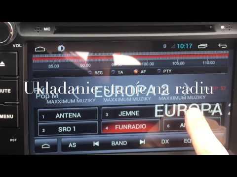 Multimedia radio Mitsubishi ASX  model 2015 Android system