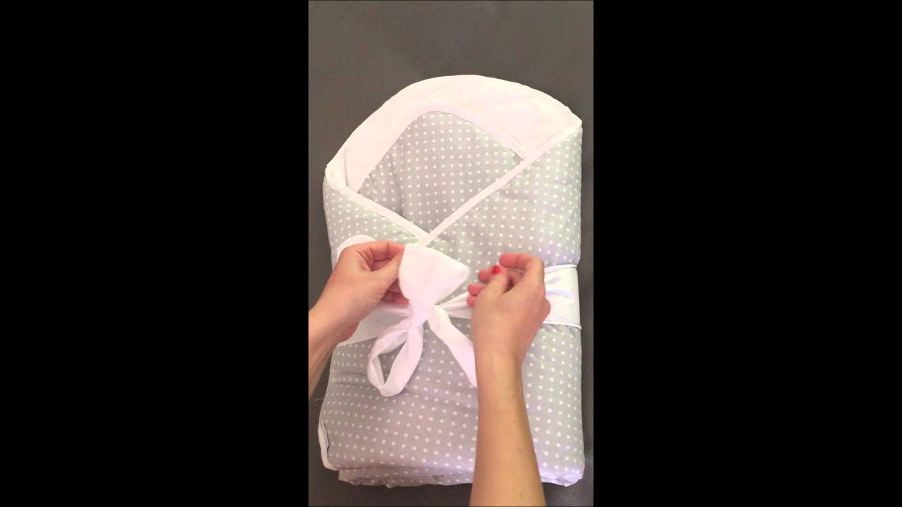 How To Tie A Bow On Bundlebee Baby Wrap Youtube