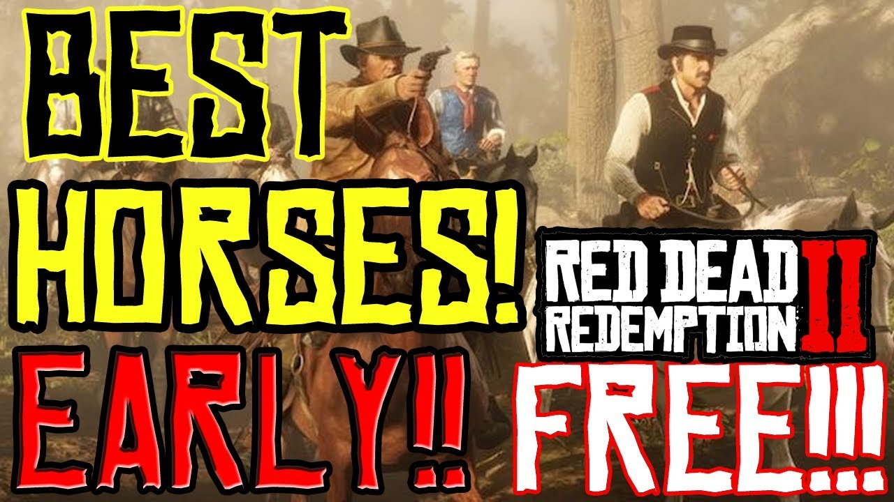 Red Dead Redemption 2: How To Get All Best Horse In Chapter 2