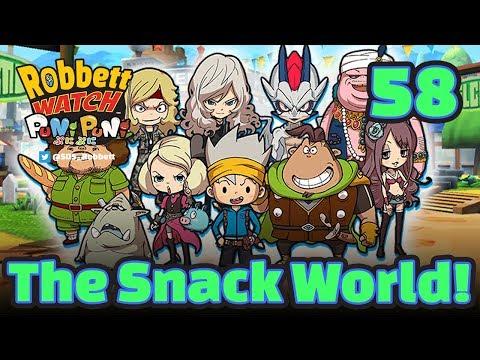 Yo-kai Watch Puni Puni #58: The Snack World! SSS Dragon Knight Chup! Robbett Watch