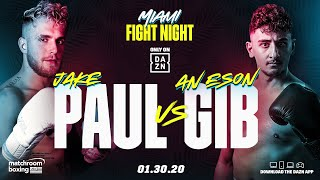 CONFIRMED: Jake Paul vs. AnEsonGib