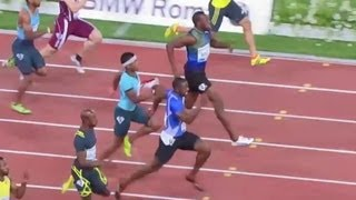 Justin Gatlin beats Usain Bolt in Rome - Universal Sports