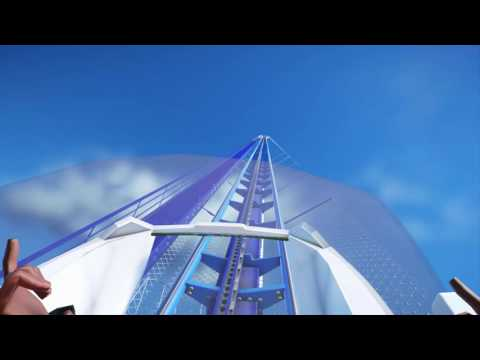 Planet Coaster: MEGACOASTER 10KM LENGTH! My first RollerCoaster:)