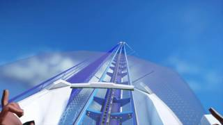 planet coaster megacoaster 10km length my first rollercoaster