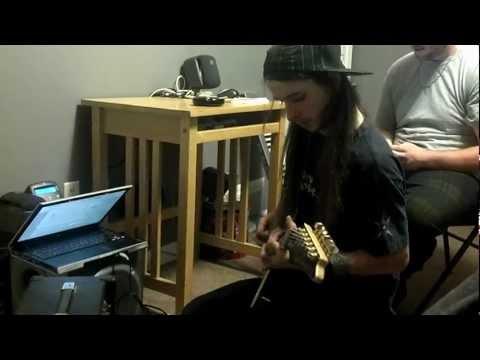 Cody Rapp Workin On Jayden's Solo Track