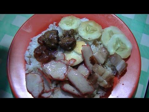Jakarta Street Food 746 (Non Halal) Ajung Singkawang Mix Rice Nasi Campur Ajung BR TiVi 5298