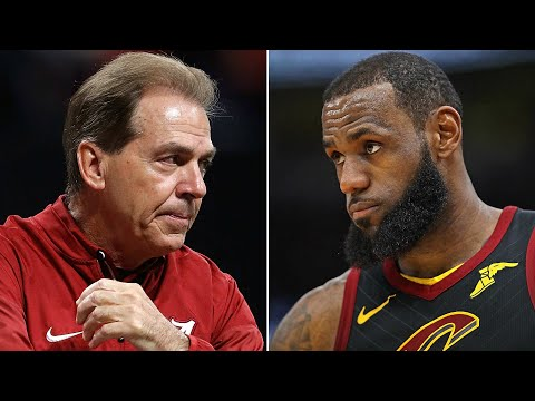 LeBron James vs. Nick Saban: What Is It REALLY About?