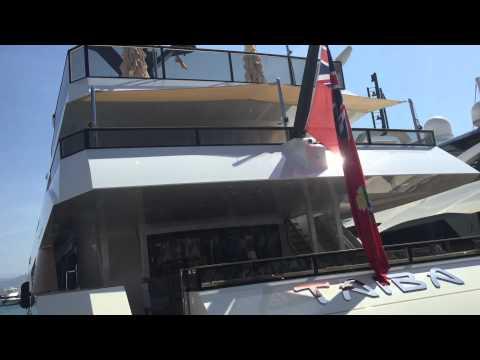 """TAIBA"" 57 m Royal yacht build 2015 by Palumbo Naval"