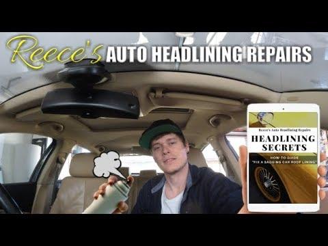 Volkswagen Passat Roof Lining Repair How I Fix A Sagging
