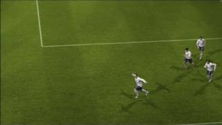 UEFA Euro 2008 Xbox 360 Gameplay - One Touch Goal