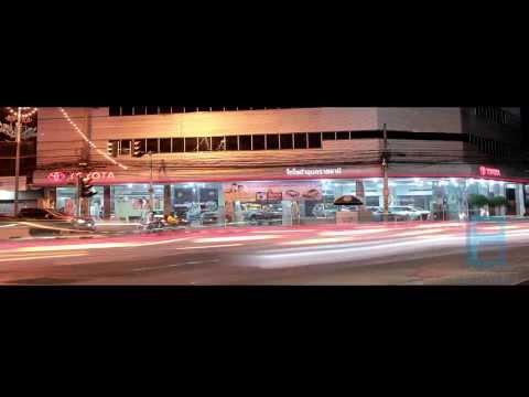ศูนย์โตโยต้าอุบลราชธานี-Time lapse