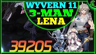 LENA Wyvern 11 3-Man (Taranor Guard, Angelica) Epic Seven Auto Speed Team Epic 7 W11 Gameplay E7 F2P