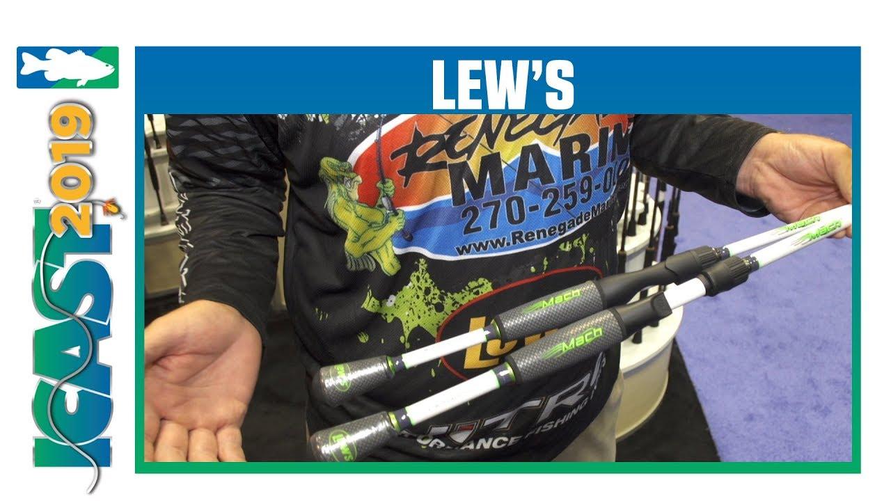 ICAST 2019 Videos - Lew's Mach Rods with Matt Robertson