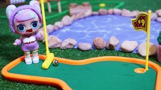LOL SURPRISE DOLLS Go Mini Golfing!