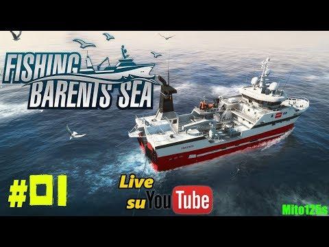 🔴 Barca,pesca e mare aperto - Fishing: Barents Sea #01