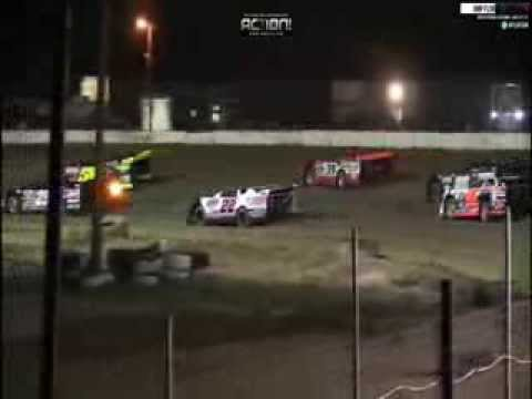 DARRELL LANIGAN WINS FIRST RACE IN HIS CLUB 29 CAR NORTH FLORIDA SPEEDWAY PART 1
