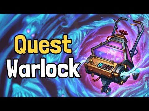Quest Warlock Decksperiment - Hearthstone