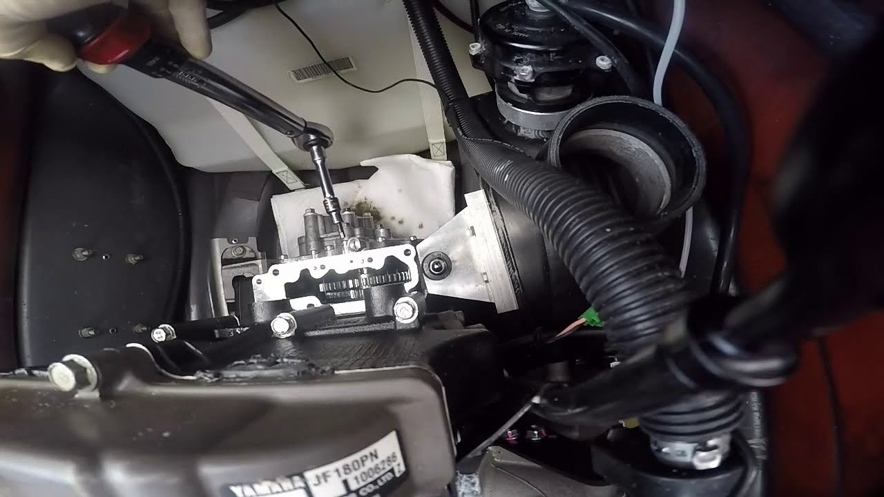 Yamaha SVHO/SHO Supercharger clutch install Part 2 - YouTube