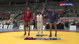 Дмитрий Елисеев на чемпионате мира по САМБО в Марокко  2015 год