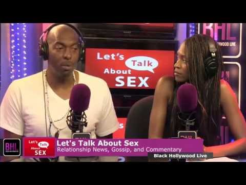 "John Salley Guests on  ""Let's Talk About Sex"""