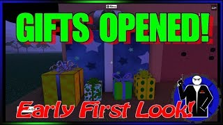 Roblox - Christmas Gifts Opened (MUST SEE)